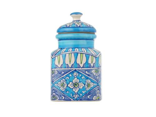 Hand Painted Moroccan Cookie Jar - Artisanal Creations