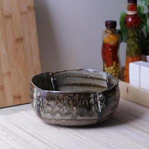 Ceramic Rustic Memoire Serving Bowl - Artisanal Creations