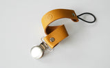 Mustard Leather Clip - SOLD OUT