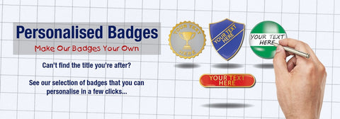 Why Choose Personalised School Badges...