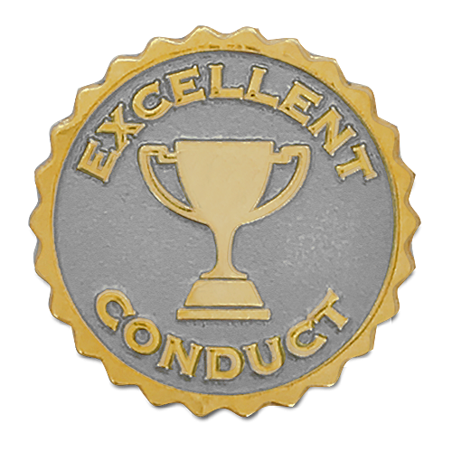 Excellent Conduct Badge by School Badges UK