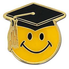 Smiley Scholar Badge by School Badges UK