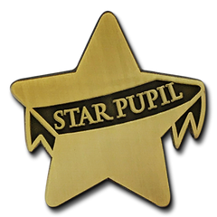 Star Pupil Badge by School Badges UK