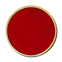 'Plain' Round Badge by School Badges UK
