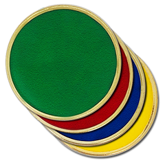 'Plain' Round Badge