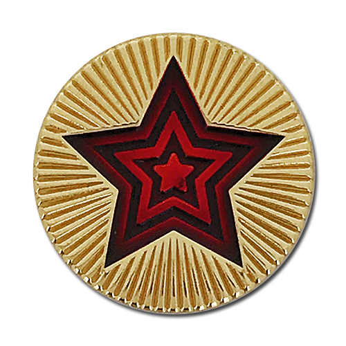 Round Star Badge by School Badges UK