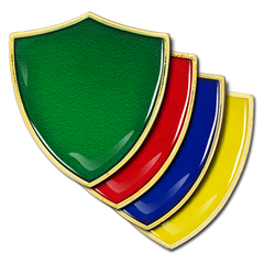 'Plain' Shield Badge