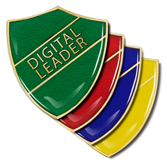 Digital Leader Shield Badge