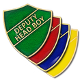 Deputy Head Boy Shield Badge