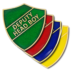 Deputy Head Boy Shield Badge by School Badges UK