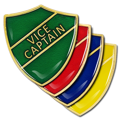 Vice Captain Shield Badge