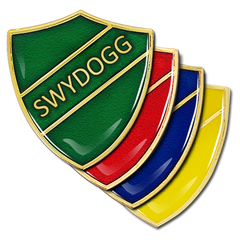 Swyddog Shield Badge by School Badges UK