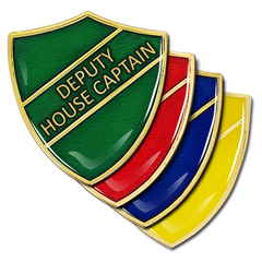 Deputy House Captain Shield Badge