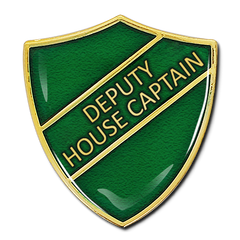 Deputy House Captain Shield Badge by School Badges UK