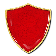 'Plain' Shield Badge by School Badges UK