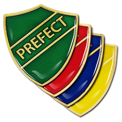 Prefect Shield Badge by School Badges UK