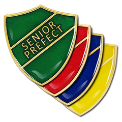 Senior Prefect Shield Badge by School Badges UK
