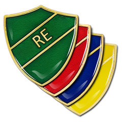 RE Shield Badge by School Badges UK
