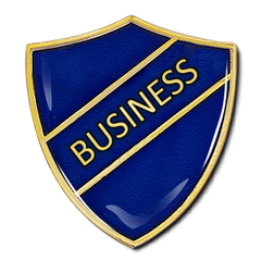 Business Shield Badge by School Badges UK