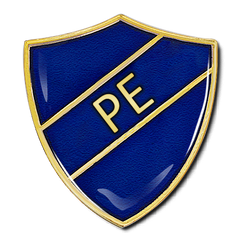PE Shield Badge by School Badges UK