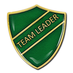 Team Leader Shield Badge