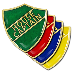 House Captain Shield Badge