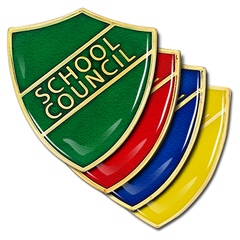School Council Shield Badge by School Badges UK