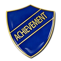 Achievement Shield Badge by School Badges UK