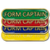 Form Captain Bar Badge