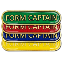 Form Captain Bar Badge by School Badges UK