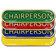 Chairperson Bar Badge