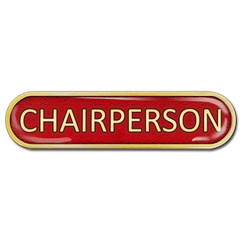 Chairperson Bar Badge by School Badges UK