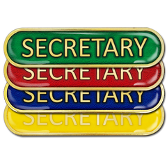 Secretary Bar Badge