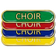 Choir Bar Badge