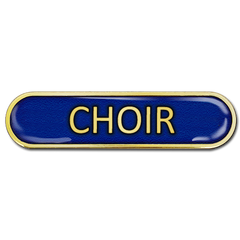 Choir Bar Badge by School Badges UK