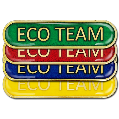 Eco Team Bar Badge by School Badges UK