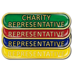 Charity Representative Bar Badge