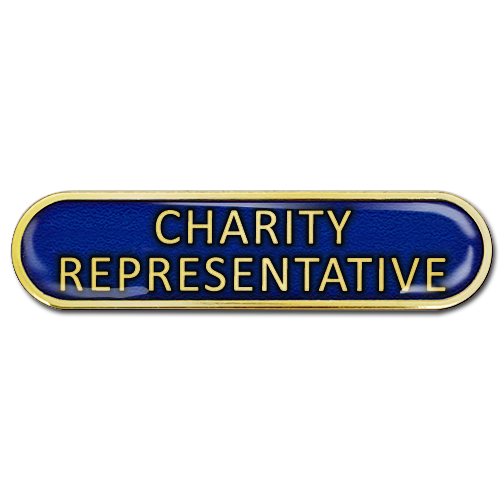 Charity Representative Bar Badge by School Badges UK