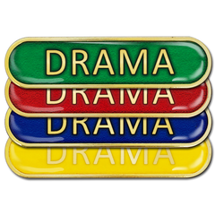 Drama Bar Badge by School Badges UK