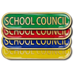 School Council Bar Badge by School Badges UK