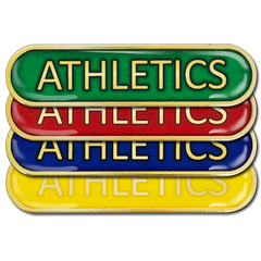 Athletics Bar Badge