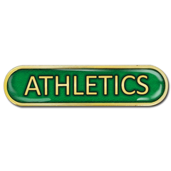 Athletics Bar Badge by School Badges UK