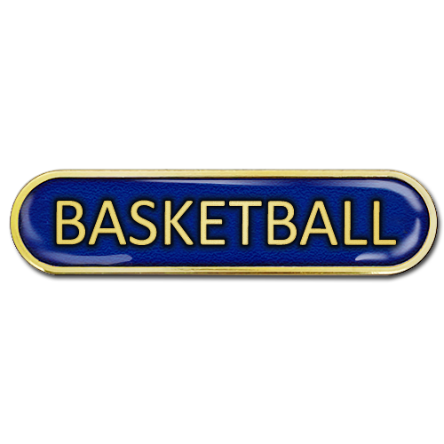 Basketball Bar Badge