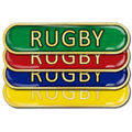 Rugby Bar Badge