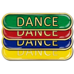 Dance Bar Badge by School Badges UK