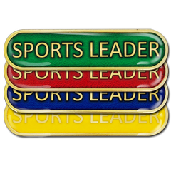 Sports Leader Bar Badge by School Badges UK