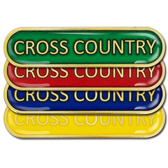 Cross Country Bar Badge