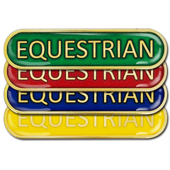 Equestrian Bar Badge
