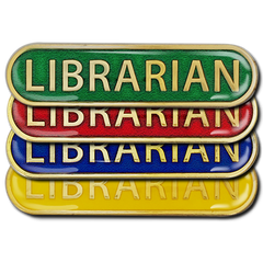 Librarian Bar Badge by School Badges UK