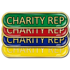 Charity Rep Bar Badge by School Badges UK